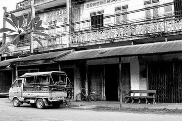 Koloniale retro sfeer, Laos van Inge Hogenbijl