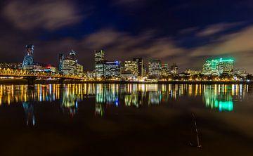 Skyline downtown Portland