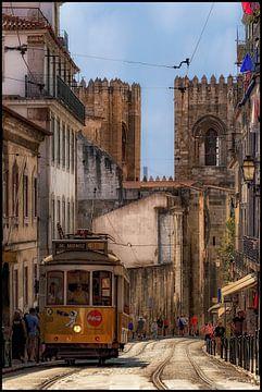 Lissabon,Tram28 Portugal in prachtige licht van D Meijer