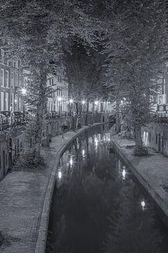 Nieuwegracht in Utrecht in de avond - 1 van Tux Photography