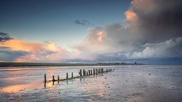 Wierum aan de Waddenzee Friesland van Martijn van Dellen