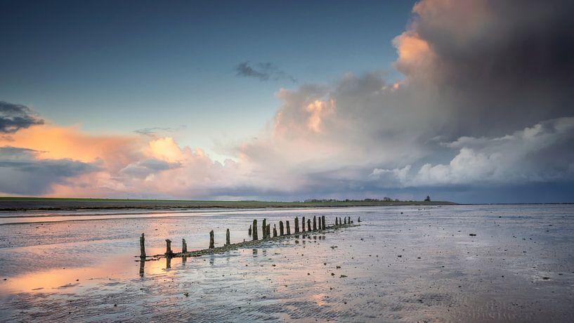 Wierum aan de Waddenzee Friesland von Martijn van Dellen