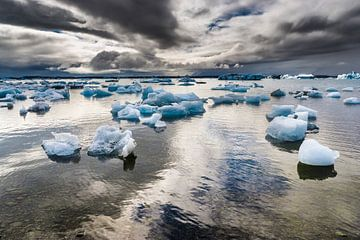 Gletschersee Jökulsarlon von Chris Stenger