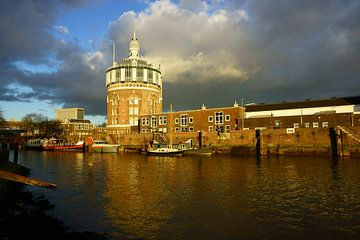 Watertoren Rotterdam sur Michel van Kooten