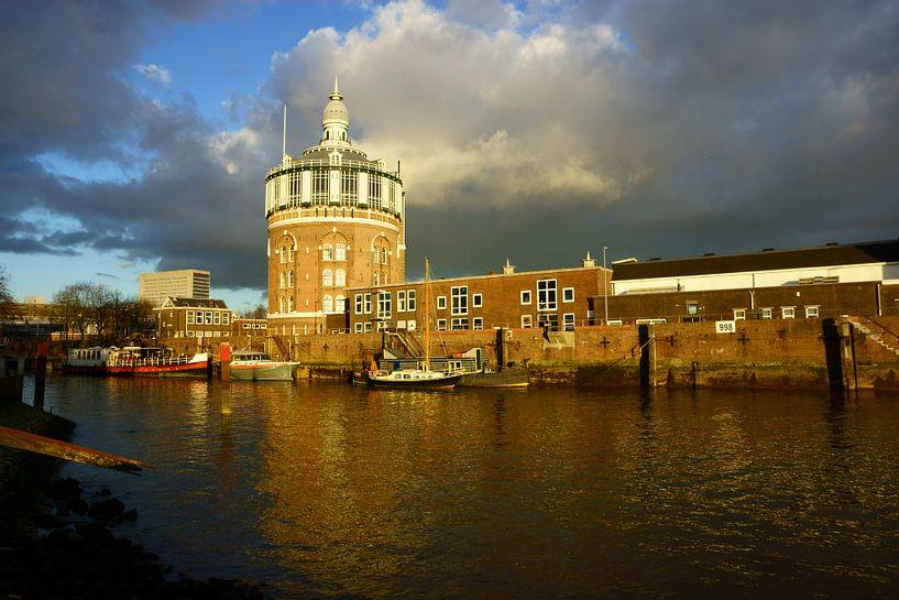 Watertoren Rotterdam van Michel van Kooten