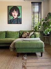 Kundenfoto: Stellen Sie sich vor: von Lucienne van Leijen, auf leinwand