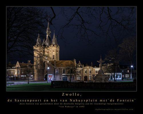 Zwolle, de Sassenpoort van