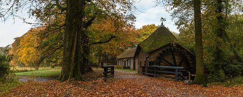 Autumn At The Watermill van William Mevissen