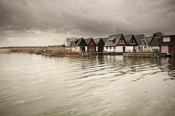 Ahrenshoop Harbour van Jörg Hausmann