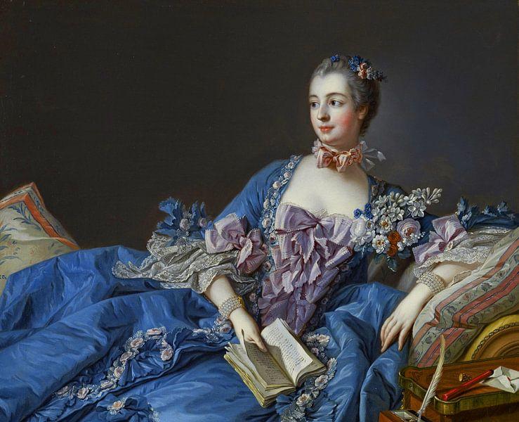 François Boucher - Madame de Pompadour van 1000 Schilderijen