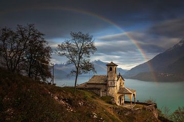 Santa Eufemia rainbow van