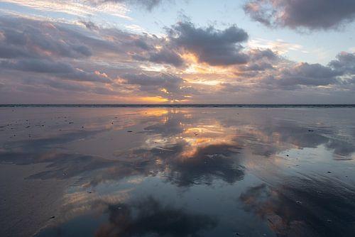Zonsondergang op Schiermonnikoog van michel Knikker