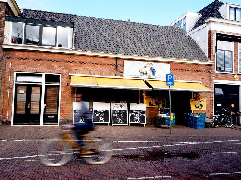 Wijnlokaal en Aardappelpakhuis Geregracht Leiden Holland van Norbert Aronds