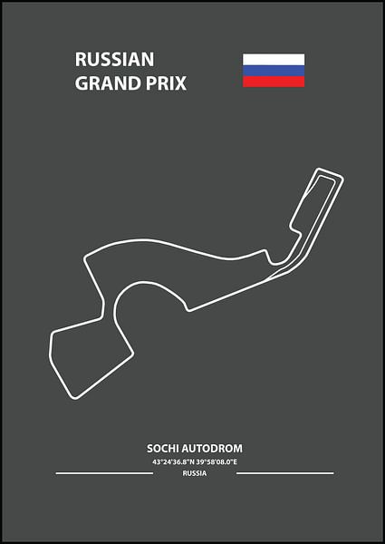 RUSSIAN GRAND PRIX | Formula 1 von Niels Jaeqx