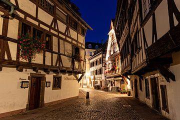 Een vroege ochtend in La Petite France, Straatsburg van Martijn Mureau