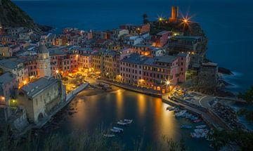Cinque Terre Italië  van Rene Ladenius