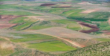 Landschap in Iran van Daan Kloeg
