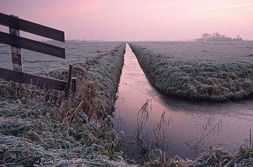 Winterlandschap van Dick Termond