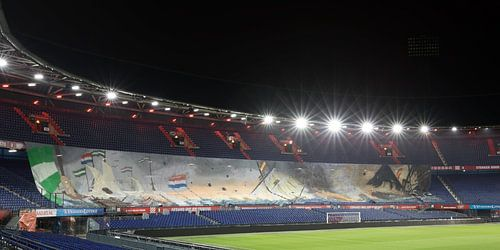 """De Zilvervloot in het Feyenoord Stadion """"De Kuip"""" in Rotterdam"""