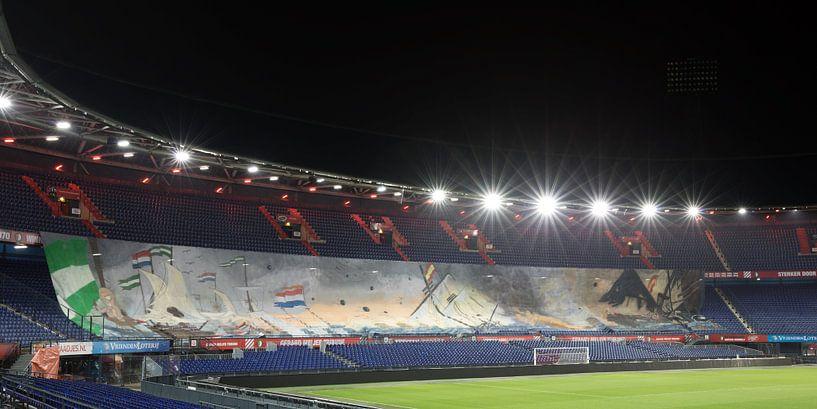 "La Flotte Argent au Feyenoord Stade ""De Kuip"" 2017 in Rotterdam sur MS Fotografie | Marc van der Stelt"