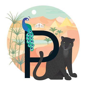 P: Panther und Pyramiden von Hannahland .