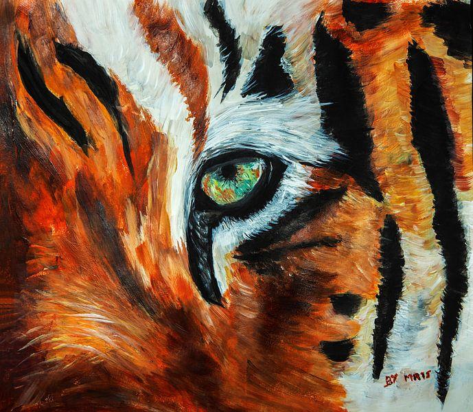 Tigerauge von Eye to Eye Xperience By Mris & Fred