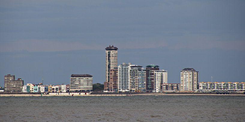 skyline Vlissingen - dag van Yvonne Blokland