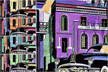 Cuba, motief 1 van zam art