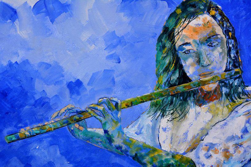 Flöte spielen von pol ledent