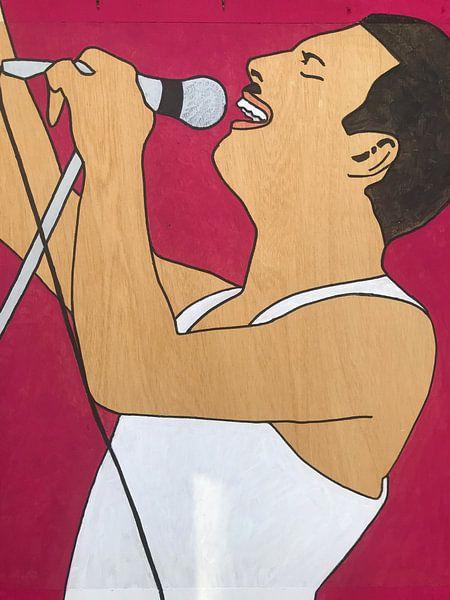 Freddie Mercury von hou2use