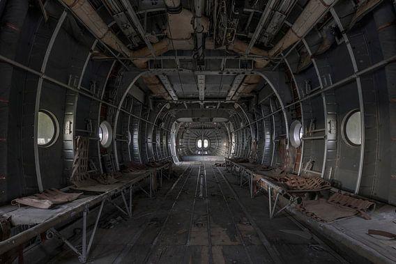 Verlaten vliegtuig