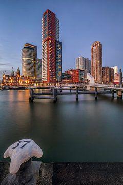 De Kop van Zuid Rotterdam van Dennisart Fotografie