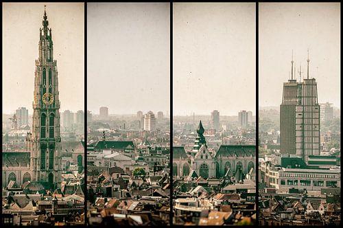 Antwerpen stadsgezicht vierluik van Stefan Witte
