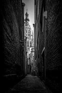 De Grote Kerk in Breda van Ronald Westerbeek