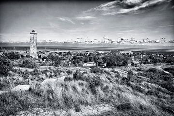Terschelling Dorpsgezicht  West Terschelling von Waterpieper Fotografie