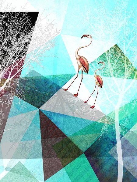 Flamingo P20-A van Pia Schneider