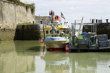 The harbour of Oleron van Henk Hooge