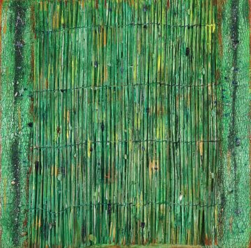 # 4 Bambus 40 x 40 sur