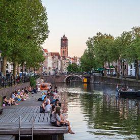 Een prachtige lenteavond in Utrecht van De Utrechtse Internet Courant (DUIC)