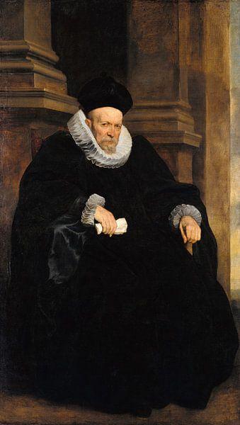 Porträt eines genovesischen Gentleman, Anthony van Dyck von Meesterlijcke Meesters