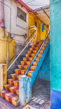 bunte Treppe von marloes voogsgeerd