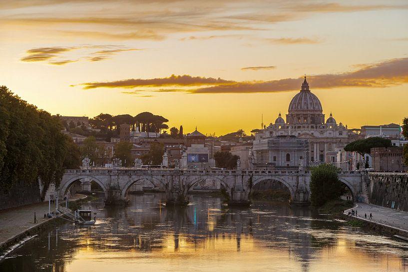 Zicht op Vaticaan van Menno Schaefer