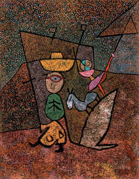 Cirque itinérant, Paul Klee sur Meesterlijcke Meesters