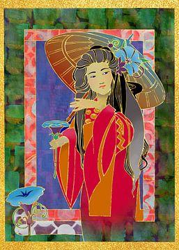 Orientalische Frau 2 von Ariadna de Raadt