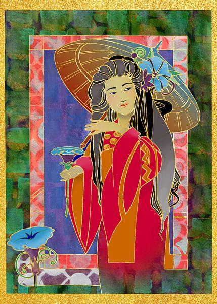 Femme Orientale 2 sur Ariadna de Raadt-Goldberg