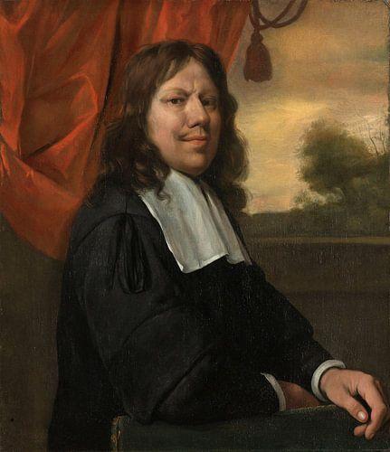 Zelfportret, Jan Havicksz. Steen van Meesterlijcke Meesters