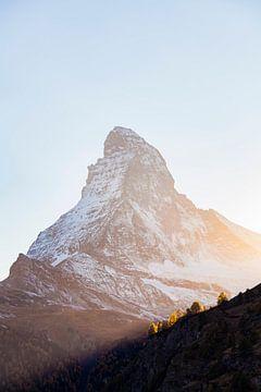 Das Matterhorn in der Schweiz von Werner Dieterich