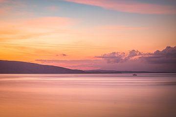 Sonnenuntergang in Kroatien von Truus Nijland