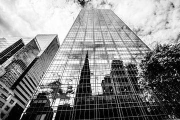 Réflexion de Saint Patricks Cathedral, New York City sur Eddy Westdijk
