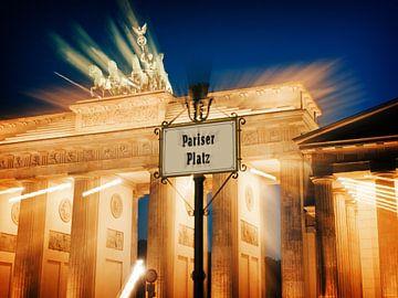 Berlin – Brandenburg Gate / Pariser Platz van